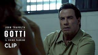 """Gotti - Il primo padrino (John Travolta) - Scena in italiano """"Non ti vesti come un poliziotto"""""""
