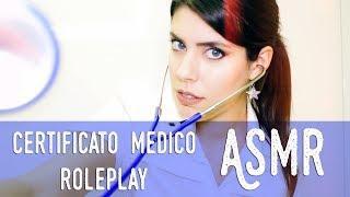 ASMR ita - ???? Certificato Medico · ROLEPLAY (Soft Spoken)