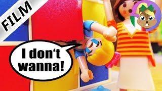Playmobil film italiano|ANNA HA PAURA DELLA NUOVA CLASSE! si nasconde nell'armadietto| famigliaVogel
