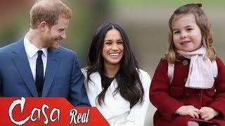 La princesa Charlotte tendrá un rol importante en la boda de su tío con Meghan Markle