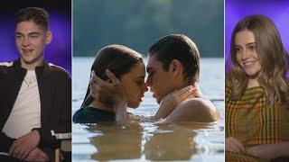 After: Hero Fiennes-Tiffin and Jospehine Langford Spill on Their Undeniable Chemistry