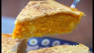 """""""Tarta veggie de calabaza y queso"""", otra opción sana para almorzar"""