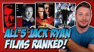 All 5 Jack Ryan Movies Ranked!