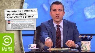 Saverio Raimondo: Terrapiattisti vs Scienza - CCN - Comedy Central