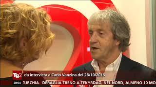 §.2/- intervista inedita a Carlo Vanzina, proposta dal TG2 il giorno della morte - era il 28/10/2016