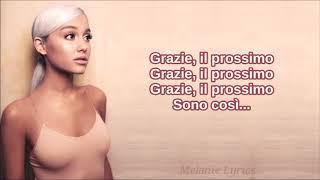 Ariana Grande - thank u, next || Traduzione in Italiano