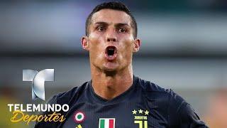 Tres misiles y un VAR: Así debutó Cristiano con la Juventus | Italia Serie A | Telemundo Deportes