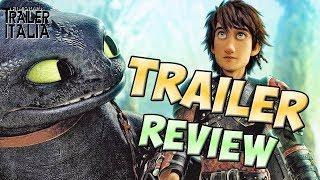 DRAGON TRAINER IL MONDO NASCOSTO | Trailer Review