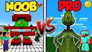 Minecraft - NOOB vs. PRO - THE GRINCH in REAL LIFE!