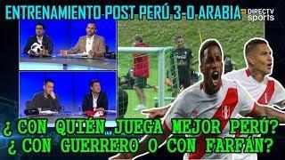 (3/4) De Fútbol Se Habla Así (04/06/18): ¿Con Guerrero y/o Farfán de TITULAR? | Entrenamientos