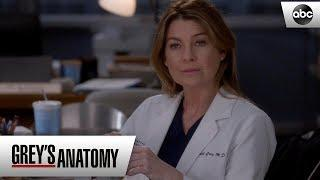 Meredith tells Alex about Deluca - Grey's Anatomy Season 15 Episode 15