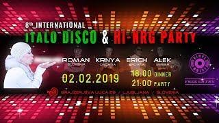 Official teaser for 8th International Italo Disco & Hi-Nrg Party in Ljubljana