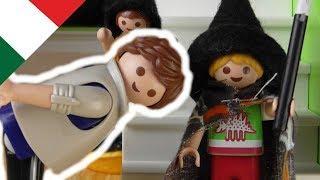 Playmobil film italiano Maledizione! Papà ha un problema alla schiena - La famiglia Hauser