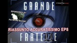 """RECENSIONE DEATH NOTE EPISODIO 8 RIASSUNTO(?) ACCURATISSIMO """"IL GRANDE FRAT ELLE"""""""