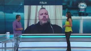 Jornalista brasileiro radicado na Itália fala do drama italiano nas eliminatórias, 06 10 2017