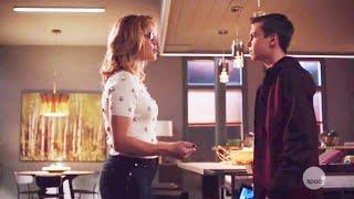 Arrow 7x12 Felicity and William Scene