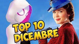 TOP 10 FILM AL CINEMA | Dicembre 2018