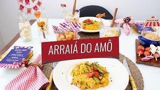 ARRAIÁ DO AMÔ - Jantar Romântico para o Dia dos Namorados no tema Festa Junina