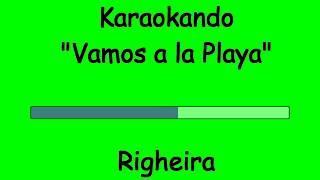 Karaoke Italiano - Vamos a la Playa - Righeira ( Testo )
