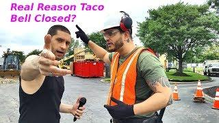 Italian Joey Interview at closed Taco Bell in Fairless Hills, Pennsylvania demands answers!