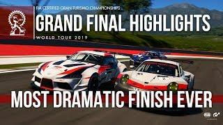 Most Dramatic Finish Ever - GT Sport Manufacturer Series Highlights: Tokyo