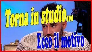 U&D: Lorenzo Riccardi ci ripensa e torna in studio, ecco il motivo | Wind Zuiden