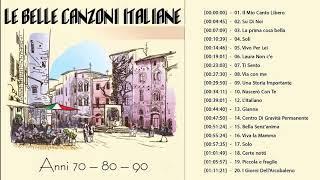 Le più belle canzoni italiane Anni 70 80 90 - 100 Migliori Canzoni Italiane Di Sempre