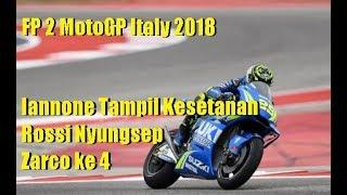 HASIL FP2 MOTOGP ITALIA, Iannone Jadi Raja, Rossi Nyungsep Ke 7, Johann Zarco Ke 4