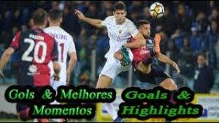 Cagliari x Roma - Gols & Melhores Momentos - Campeonato Italiano 2018-2019
