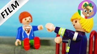 playmobil film italiano | JULIAN DAL TETTO-pompieri per un gioco nascosto| famiglia Vogel