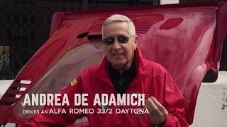 Andrea De Adamich talks Alfa Romeo and the Targa Florio