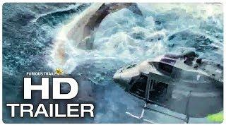 THE MEG Megalodon Vs Helicopter Fight Scene Trailer (NEW 2018) Jason Statham Shark Monster Movie HD