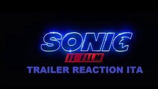 Sonic Il Film -  Trailer Reaction ITA