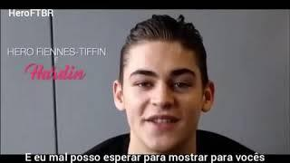 [LEGENDADO] Hero Fiennes-Tiffin na introdução do Teaser Trailer italiano de #AfterMovie.