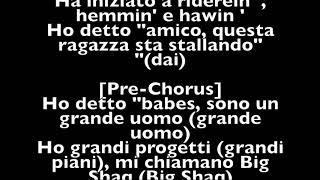 Man don´t dance Big Shaq italiano traduzione