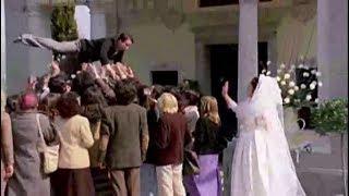 SCENA FINALE IL MATRIMONIO DI BECCAFICO (Alvaro vitali) - La ripetente fa l'occhietto al preside