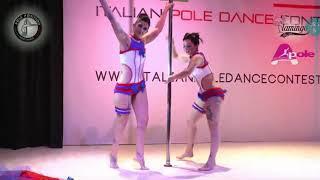 Laura e Veronica Italian Pole Dance contest Modena 14/04/2018