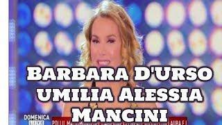Barbara D'Urso umilia Alessia Mancini: la lite in diretta | Wind Zuiden