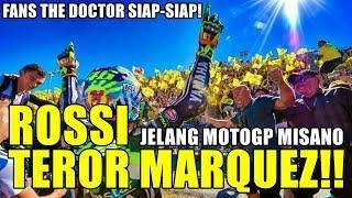 ROSSI TEROR MARQUEZ!! BALAP DI RUMAH SENDIRI, The Doctor JANJIKAN INI Saat Race MotoGP Misano 2018