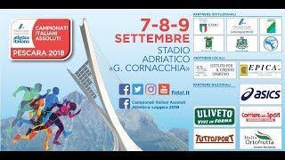 Campionati Italiani Assoluti 2018 - Pescara, 9 settembre parte 10