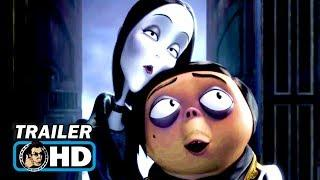 THE ADDAMS FAMILY Trailer (2019) Charlize Theron Animated Movie HD