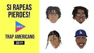 SI RAPEAS PIERDES | NIVEL TRAP AMERICANO (MUY DIFÍCIL) | Trap en Inglés ???????? | Trap Americano 20