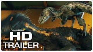 JURASSIC WORLD 2 Blue vs Indoraptor Fight Scene Trailer (2018) Jurassic Park Movie Trailer HD