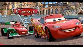 CARS 2 FILM COMPLETO IN ITALIANO DEL GIOCO SAETTA MCQUEEN DISNEY PIXAR
