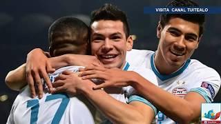 Hirving Lozano provoca desastre 'Internazionale' en empate del PSV ante el Inter en Champions League