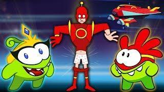 Om Nom Stories SUPER NOMS | Space Attack | New Episodes | Funny Cartoons for Kids