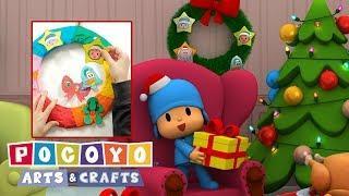 NATALE |  Pocoyo Arts & Crafts: Ghirlanda di Natale