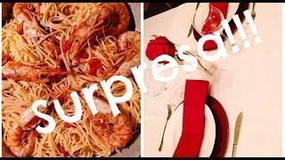 Vlog!Jantar romantico em casa!!!