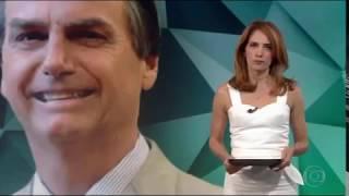 Bolsonaro recebe homenagem e se emociona ao lembrar do atentado