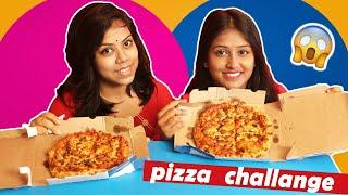 Craziest Pizza Challenge ????????????????with Sister